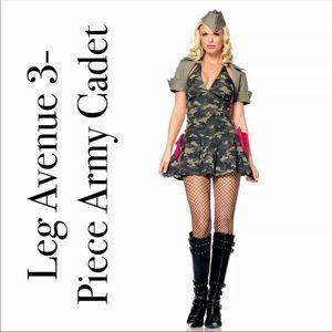 Leg Avenue Sexy 3- piece Army Cadet